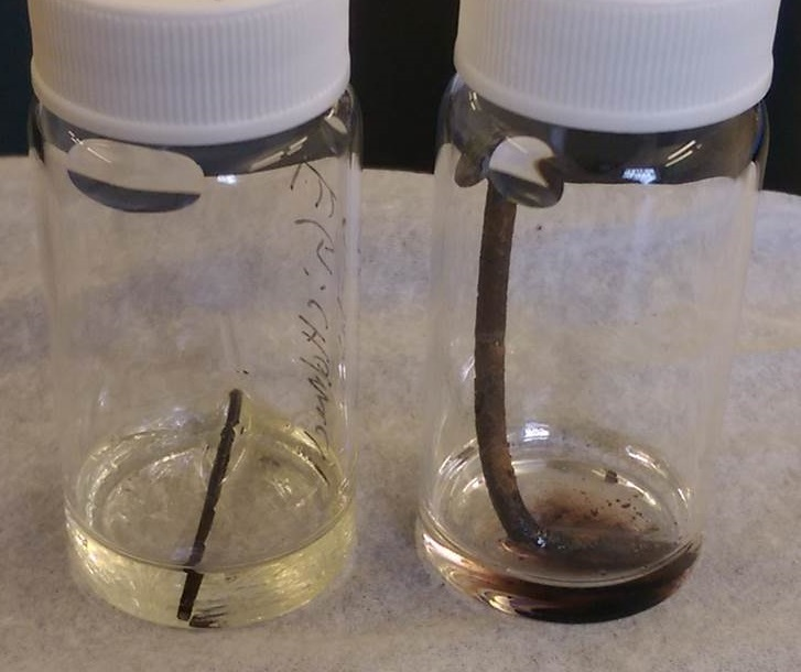 Left: A previously known deep eutectic solvent