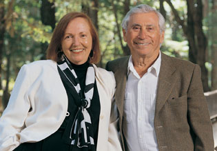 Jack and Peggy Downes Baskin