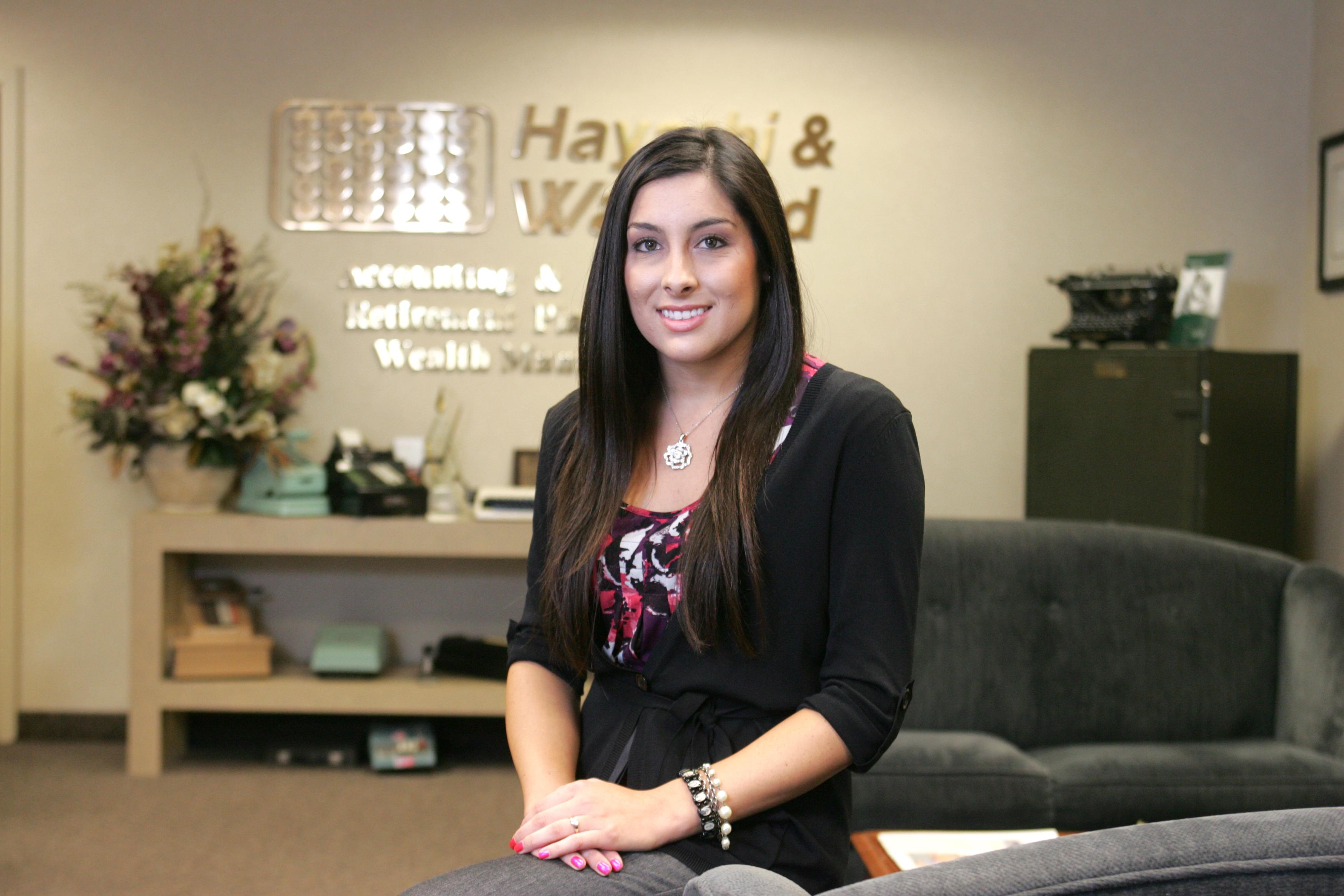 Jessica Grado, graduate, Career with Hayashi & Wayland.