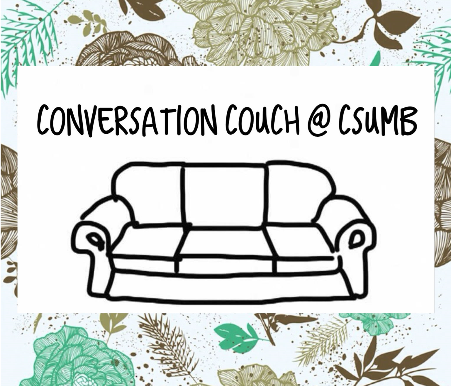 Conversation couch