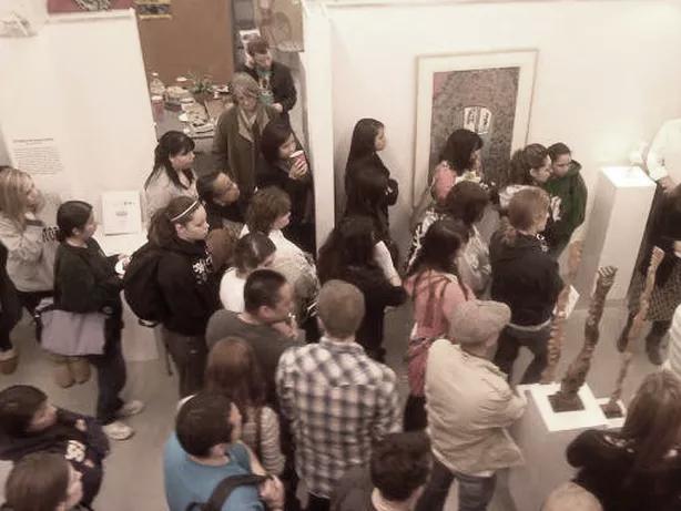 Inside the Balfour/Brutzman Gallery