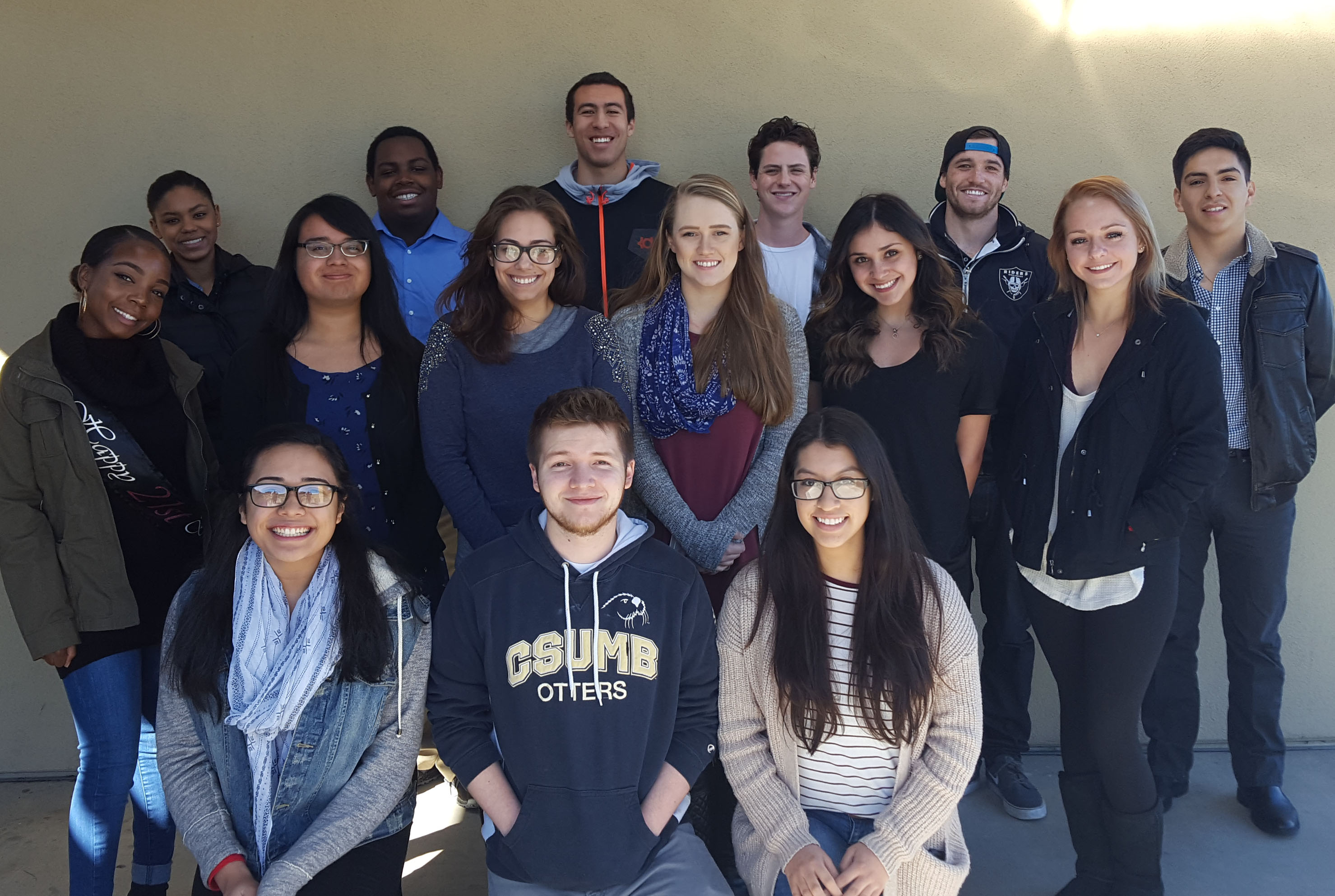 Students of the Monterey Bay Justice Project.