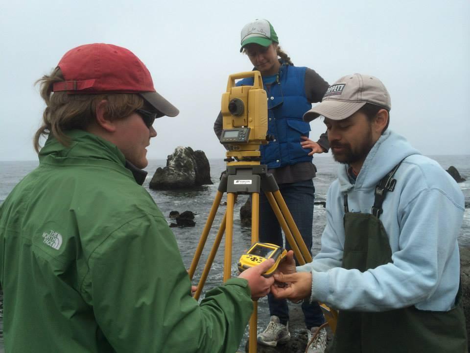 MLEL survey equipment.
