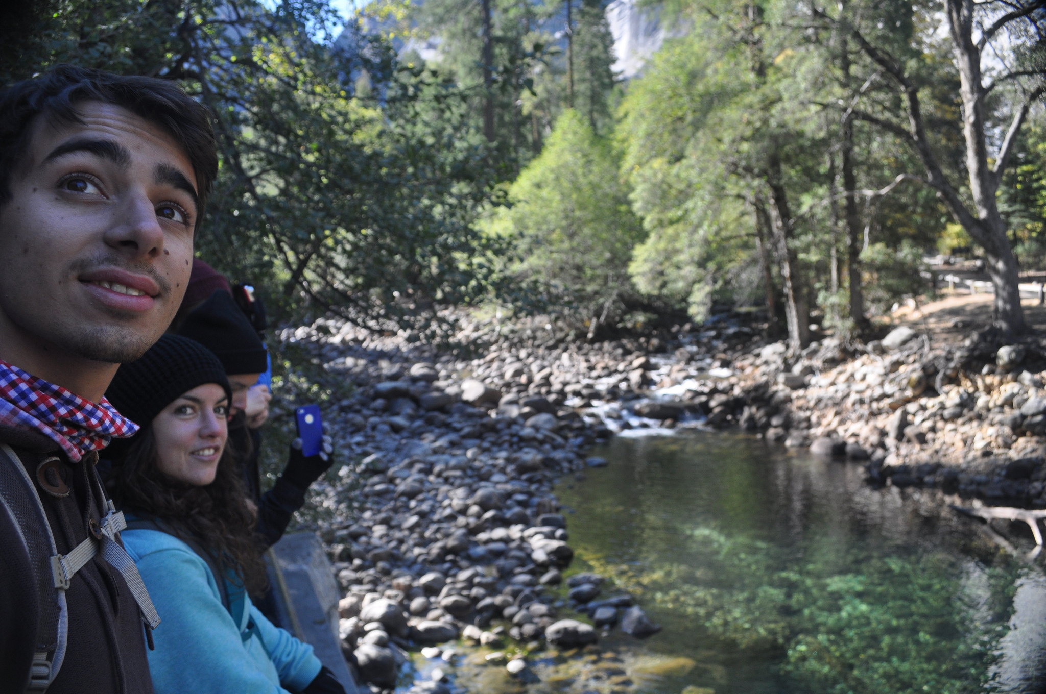 Students on Yosemite trip