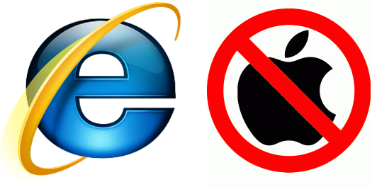 Internet Explorer Only and No Macs Allowed :(
