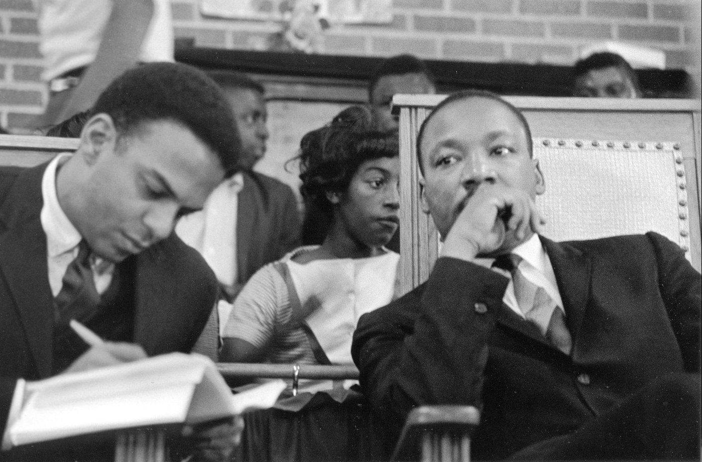 Andrew Young and Dr. Martin Luther King