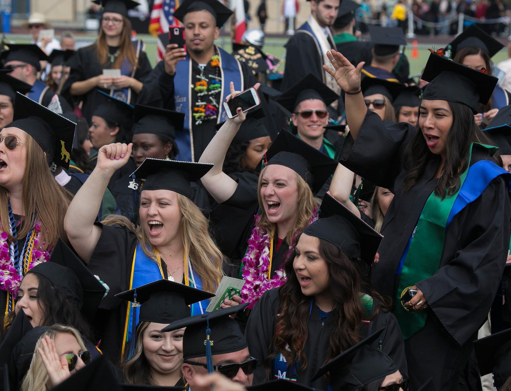 2016 CSUMB Graduates