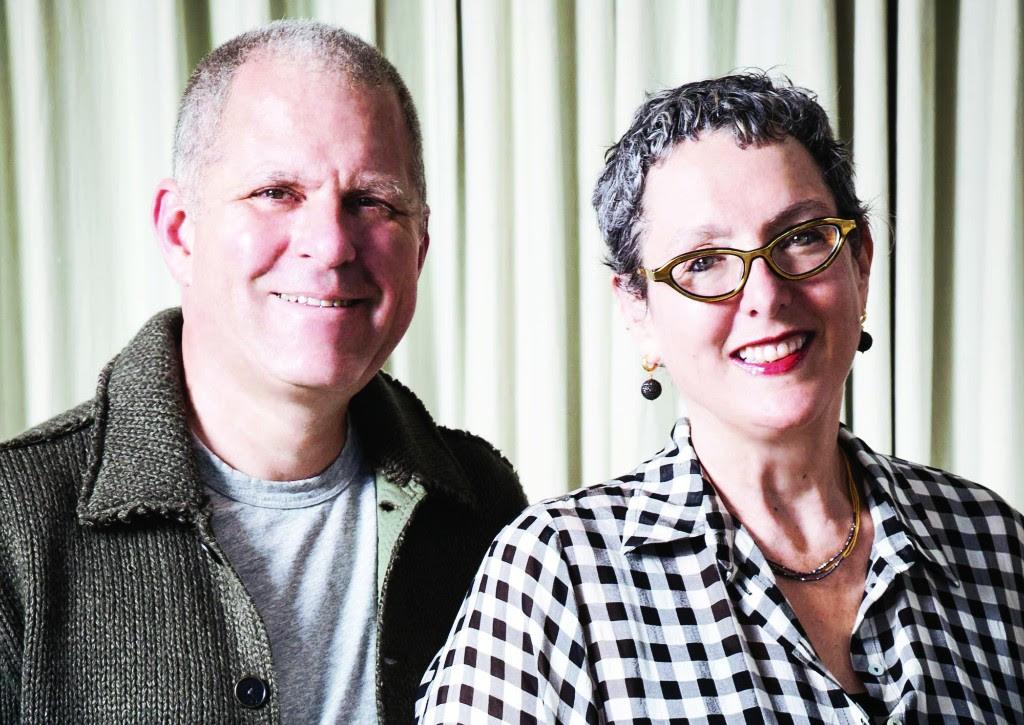 Lynda.com founders, Lynda Weinman and Bruce Heavin.