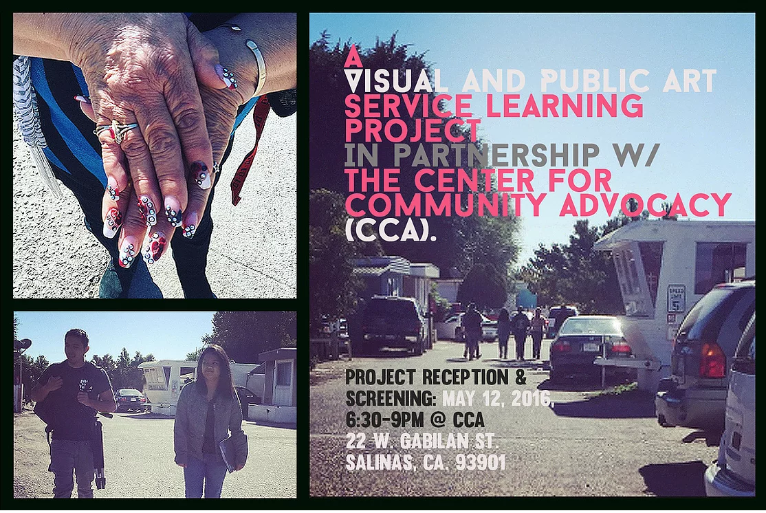 CCA Project Reception Flyer