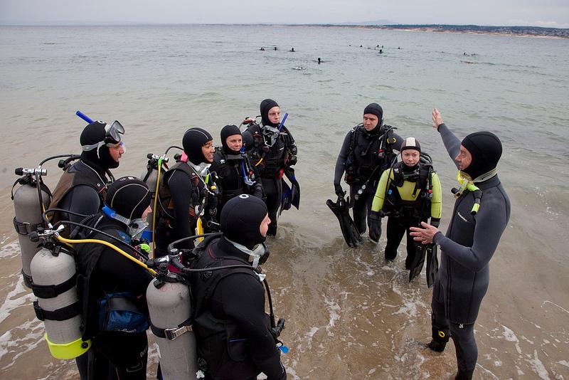 Sci Diving class