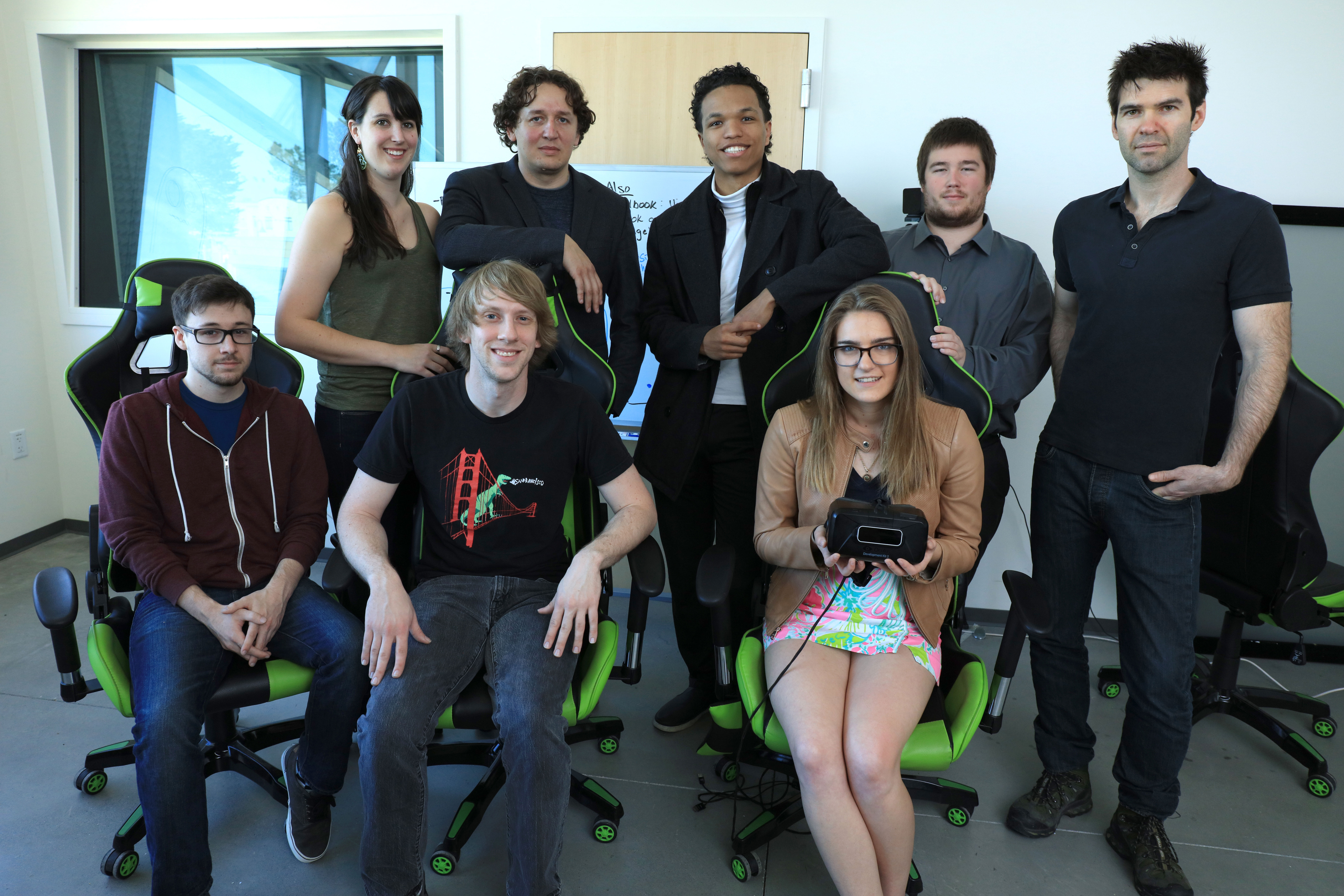 Game Research Lab faculty and students