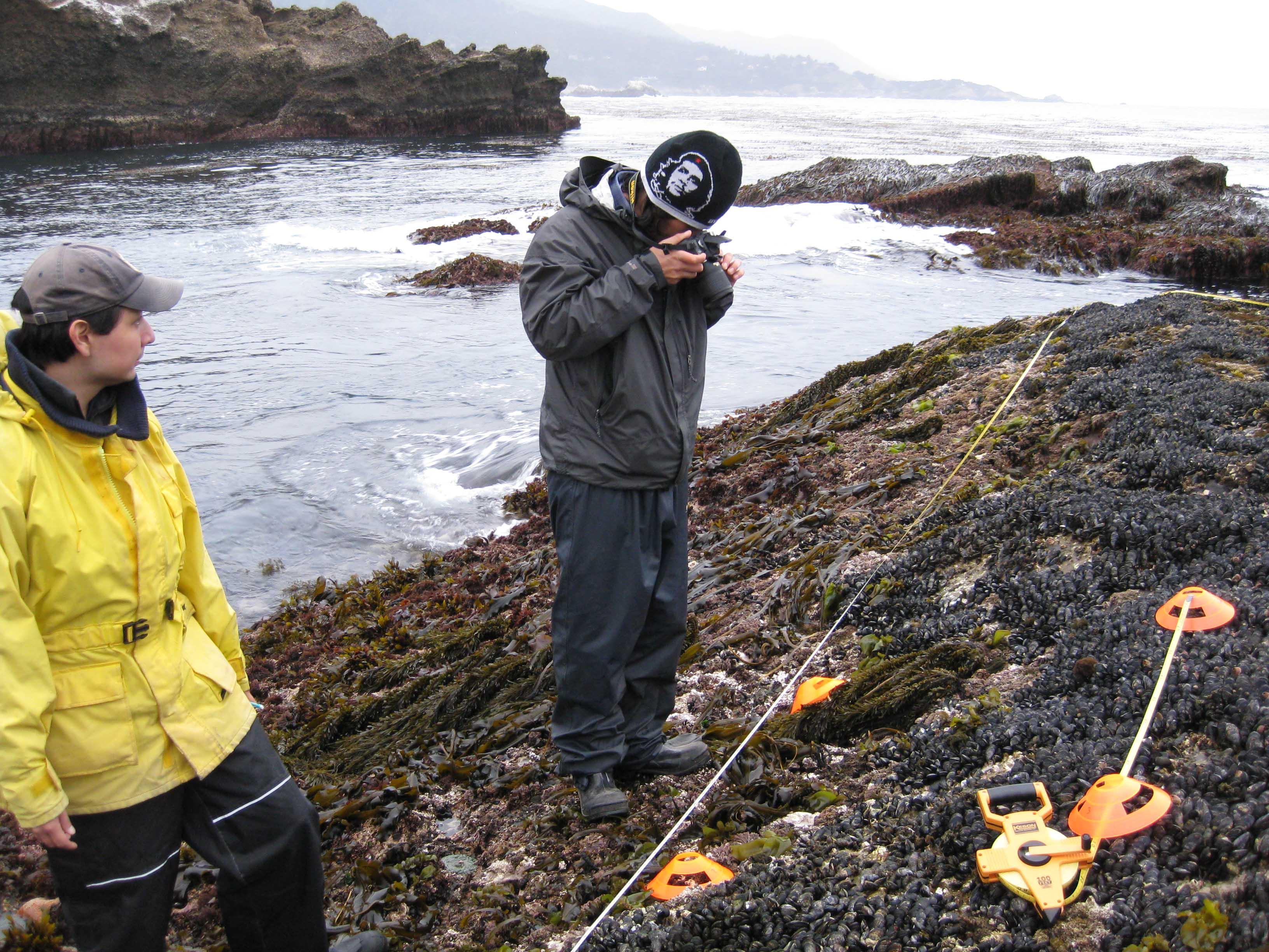 Person taking a photograph using Nikon D40X camera.