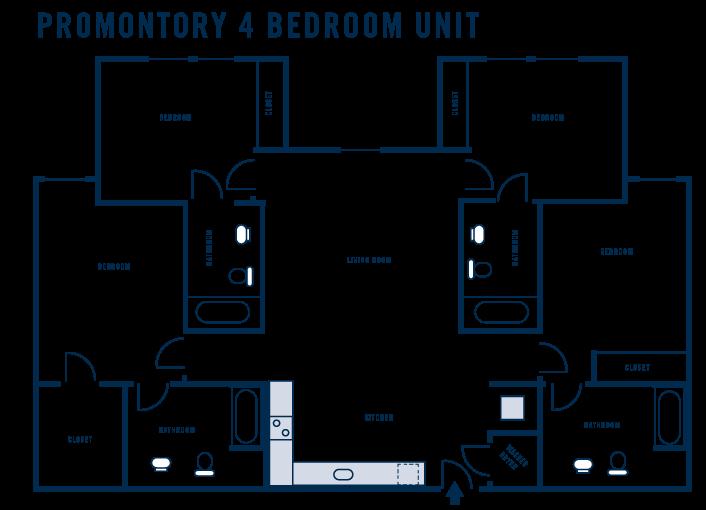 Promontory 4 Bedroom Unit