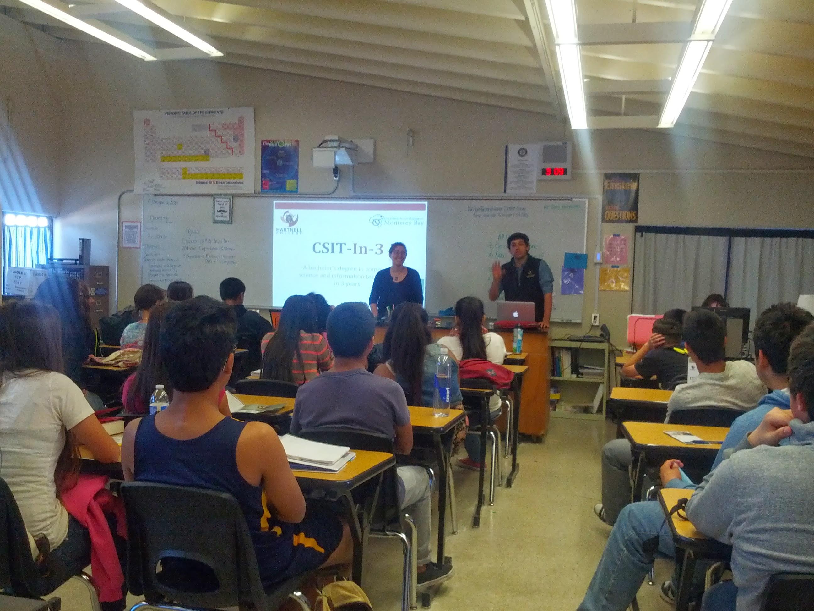 CSIT-in-3 Presentation