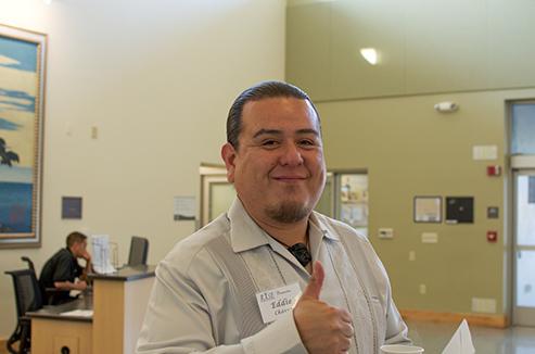 RISE Program Coordinator Eddie Chavez. Got a friend request? It is legitimate.