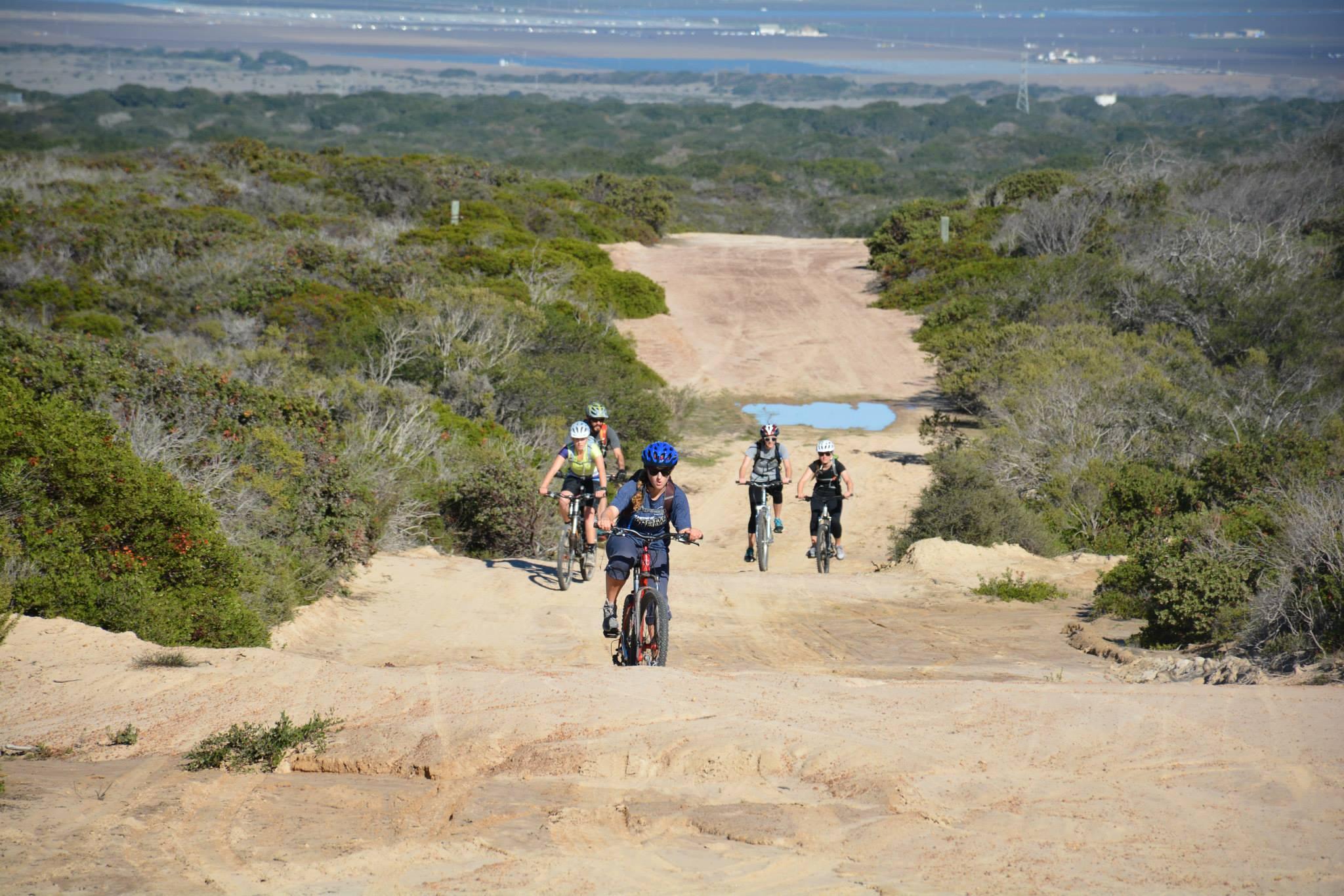 Mountain biking on Fort Ord