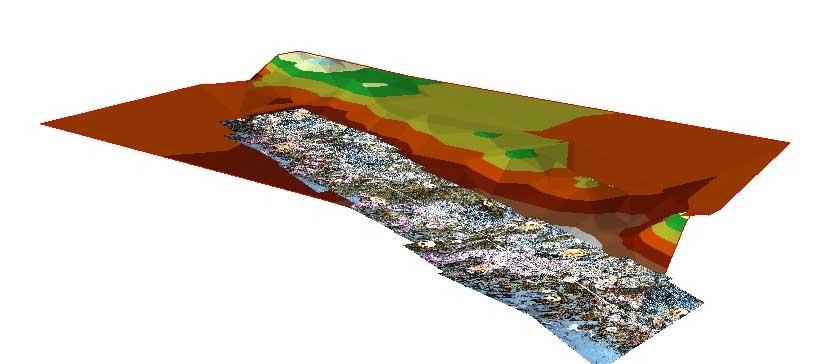 Intertidal photo transect model.