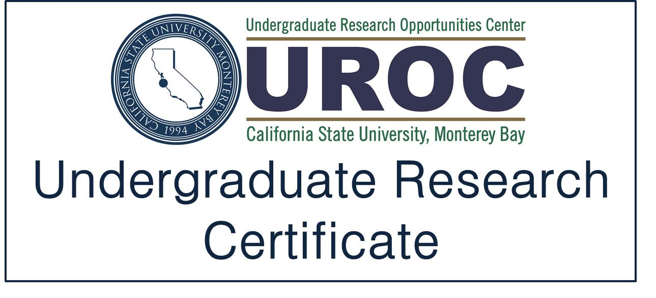 UROC Undergraduate Research Certificate: Link to Application