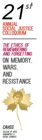 Social Justice Colloquium promotional image