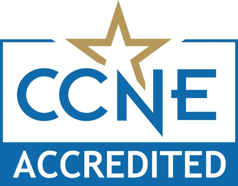 CCNE Accredited logo