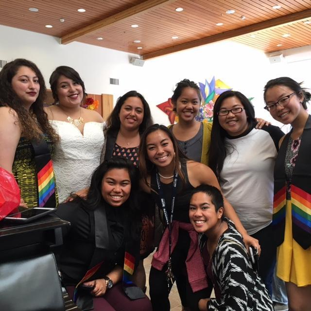 Rainbow Affinity Graduation Celebration