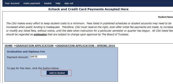 CashNet Screenshot