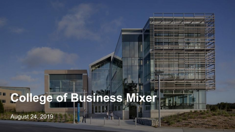 College of Business Mixer